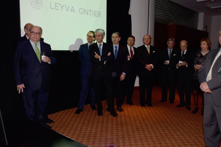 Acto de presentación de LEYVA ONTIER en Colombia