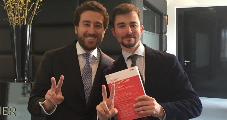 Fabio Virzi and Manuel Álvarez published two articles in the magazine of the Spanish Arbitration Club