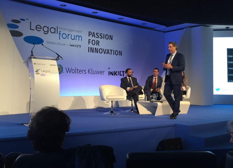 Bernardo Gutiérrez de la Roza Speaks About Reputation and Communication at Legal Management Forum