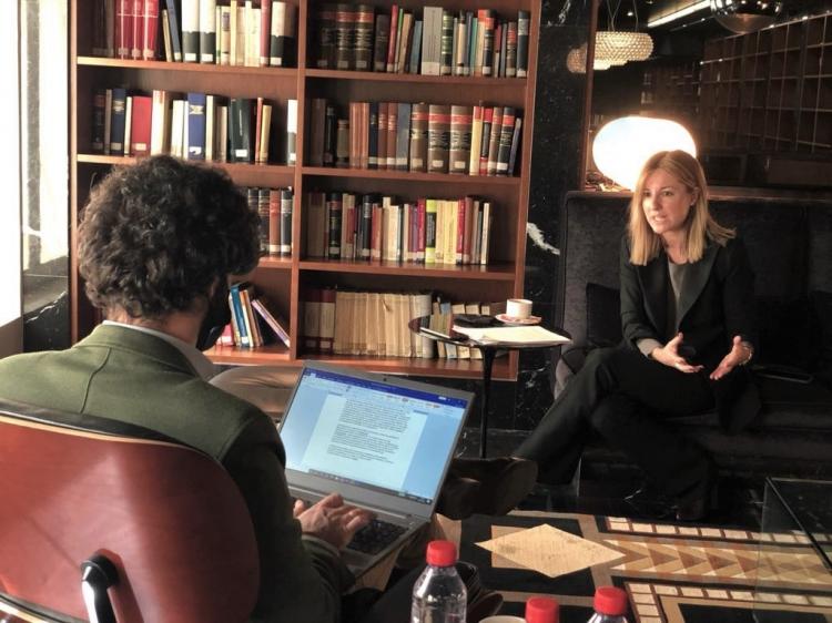 Berta Aguinaga interviewed by Capital magazine