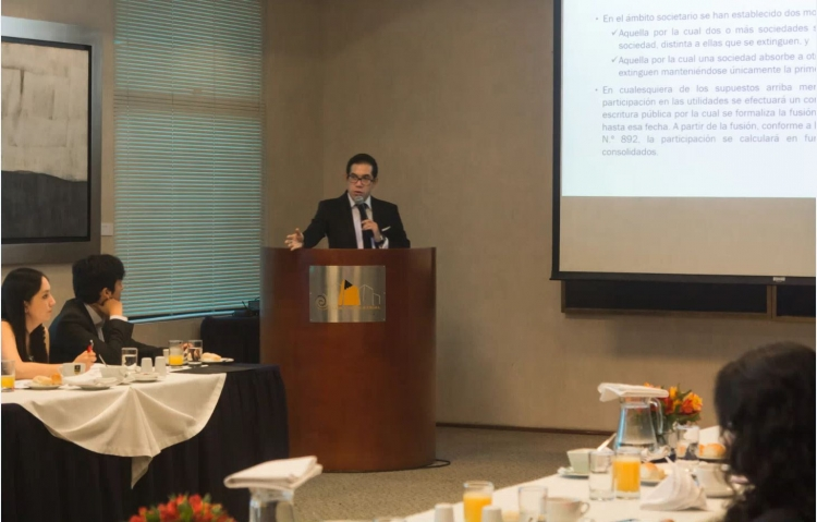 ONTIER Peru Organised a Breakfast-Conference on Labour Law