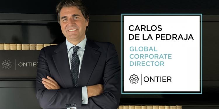 Carlos de la Pedraja nuevo director global corporativo