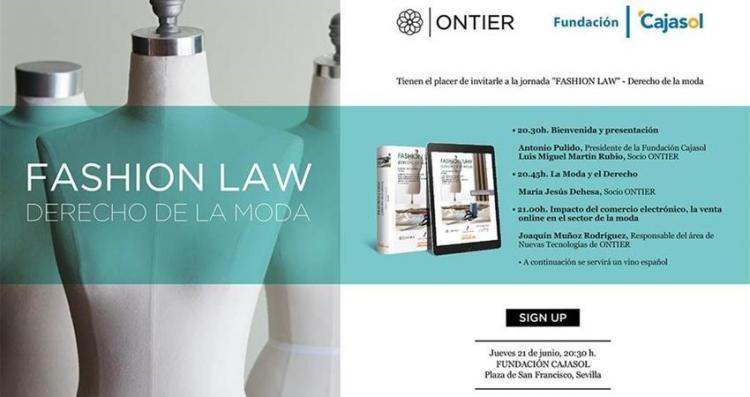 """ONTIER organiza en Sevilla la jornada """"Fashion Law - Derecho de la Moda"""""""