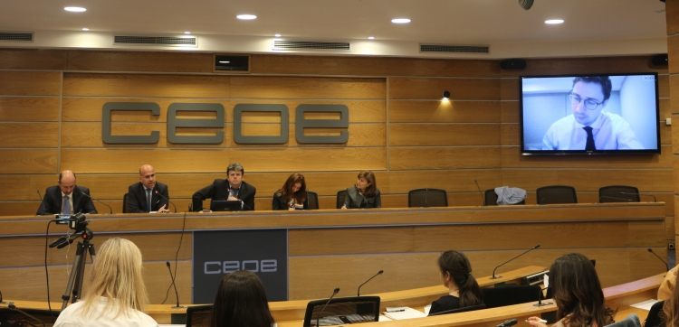 ONTIER attends to the USA-Latam Conference at the CEOE