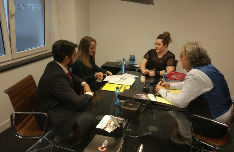 The students of the Oviedo Law Hospital tutored by ONTIER present the project carried out this year