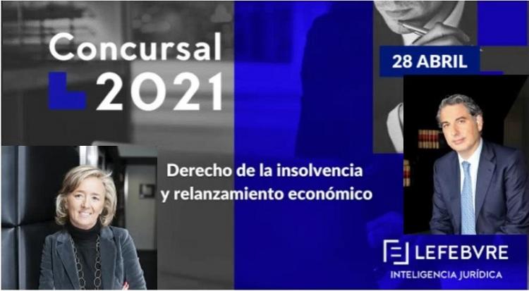 Se celebra el II Congreso Concursal Lefebvre bajo la dirección académica de María Enciso y con la participación de Bernardo Gutiérrez de la Roza