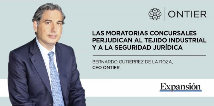 Bernardo Gutiérrez de la Roza, entrevistado en Expansión