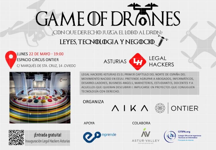 Evento: Legal Hackers Asturias - Leyes, Tecnología y Negocio