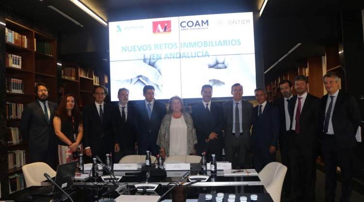 """ONTIER hosted the session """"New challenges facing the Andalusian Real Estate Industry"""""""