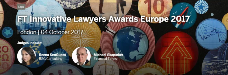 ONTIER: Shortlisted for the Innovative Lawyers Awards by Financial Times
