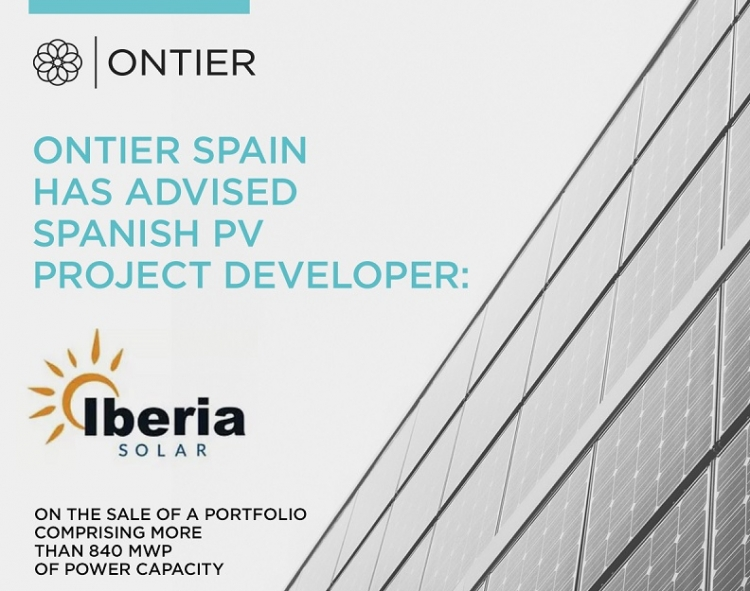 ONTIER advises Iberia Solar on a transaction amounting to over 93 million euros