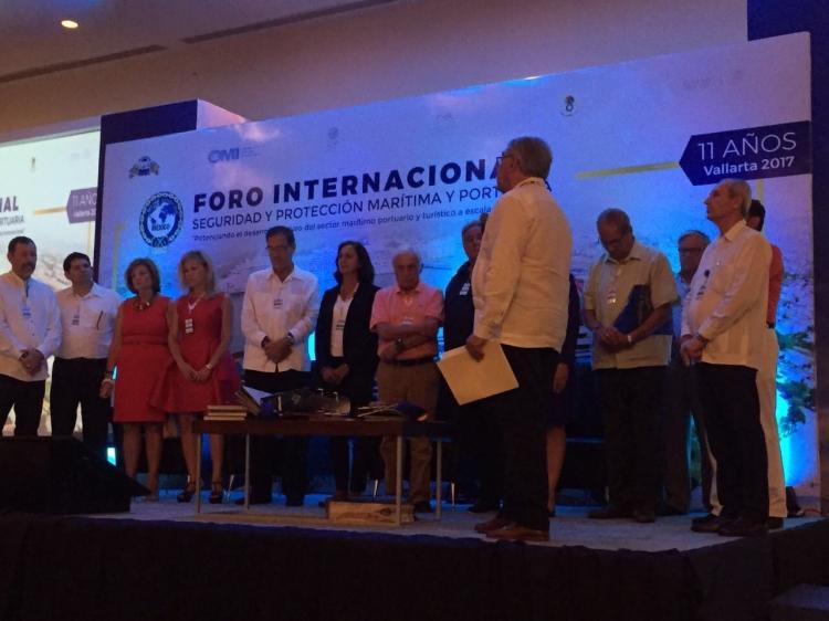 ONTIER estuvo presente en el XI Foro Internacional sobre Seguridad y Protección Marítima-Portuaria