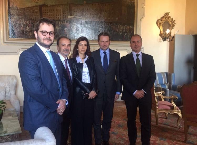ONTIER Pardo Vicenzi Meets the Spanish Embassy in Italy