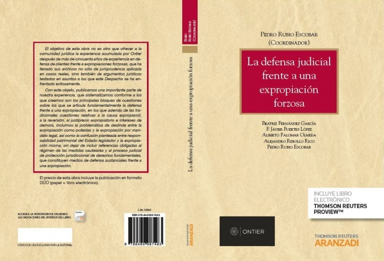 ONTIER sums up 50 years' experience in a new book co-published by Aranzadi