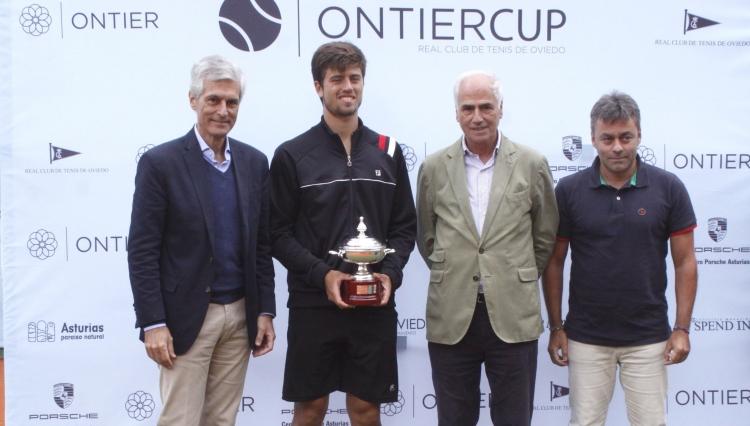 Brazilian Tennis Player Joao Menezes Wins the ONTIER Cup